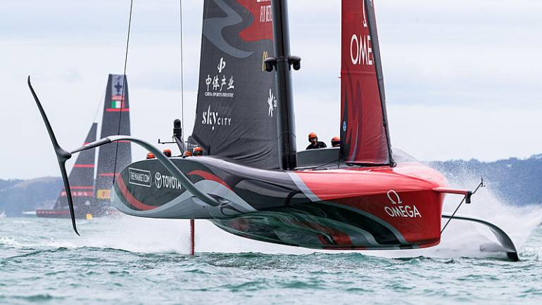 In Pictures: America's Cup 2021 Day 1