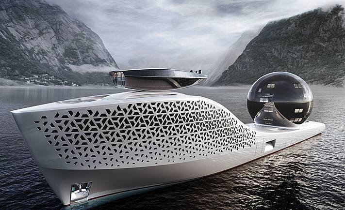 Welcome to Iddes Yachts newest vessel: the 300m scientific exploration vessel Earth300