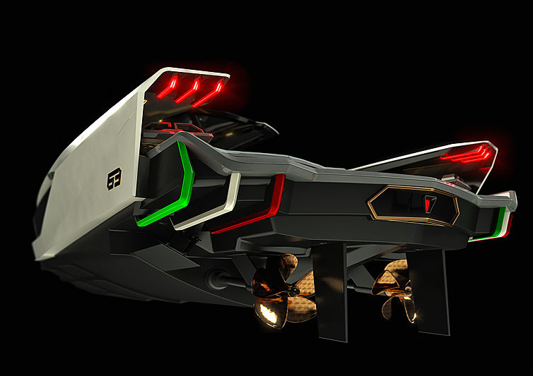 First high speed Lamborghini inspired yacht launched at Tecnomar
